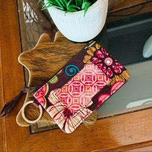 Vera Bradley | Card holder keychain wallet